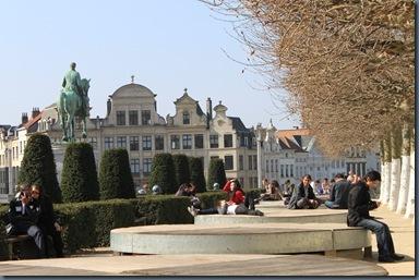 フランス式庭園の「モン•デ•ザールの庭」
