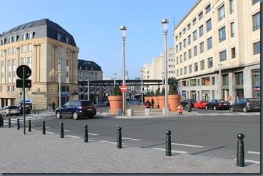 ブリュッセル中央駅前
