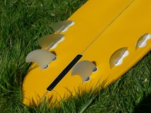 6 fin bonzer with FCS G5 rears