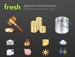 Finance and Applications Icon Set
