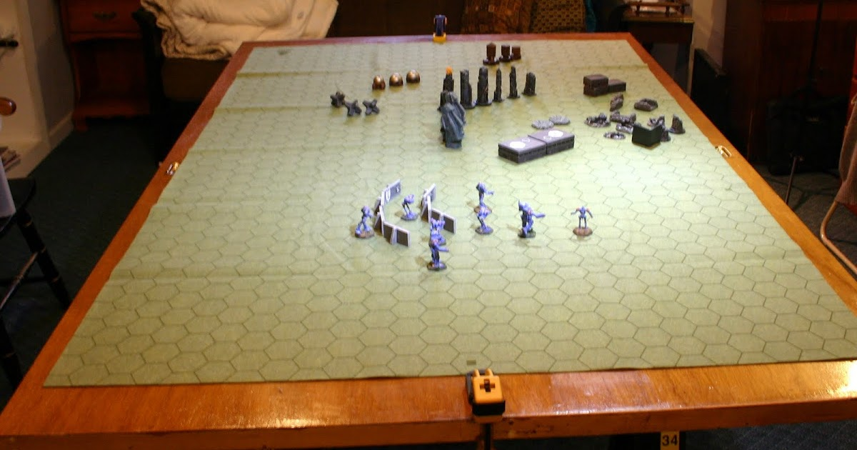 Giant battling robots my new gaming table for Super table ld 99