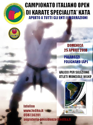 Campionato Italiano 2010 Kata OPEN - Folignano