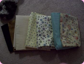baby quilt Sheila 008