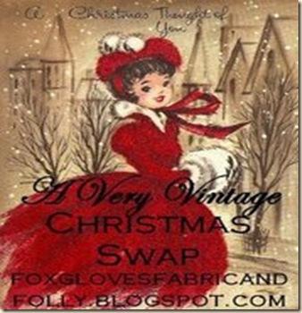 Vintage Christmas Swap