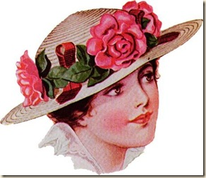 lady in pink hat