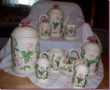 Pink Rose Tea Set for Pink Sat. 019
