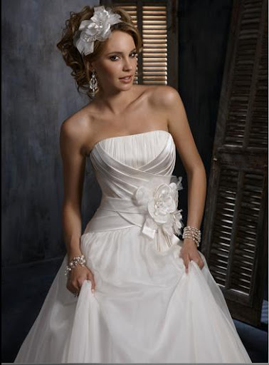 Bridal Gowns Models
