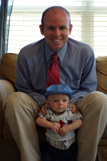 Calvin's First Easter - for blog 09