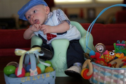 Calvin's First Easter - for blog 06