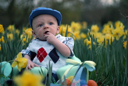Calvin's First Easter - for blog 21