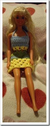 froskur-barbieklänning