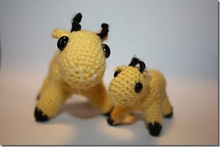 virkans amigurumi giraff