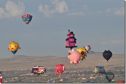Albuquerque Balloon Festival 2009 068