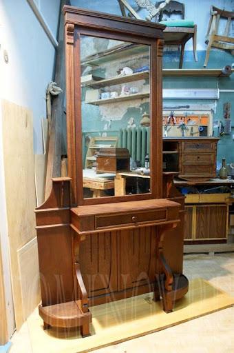 реставрация деревянной мебели петербург