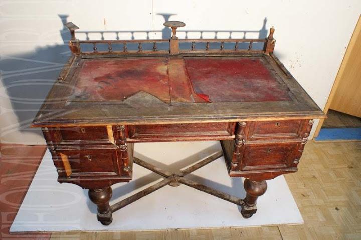 Отреставрировать письменный стол в петербурге