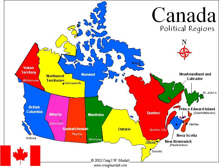 Map Us States Bordering Canada Images Road Map Of United - Political map of us and canada