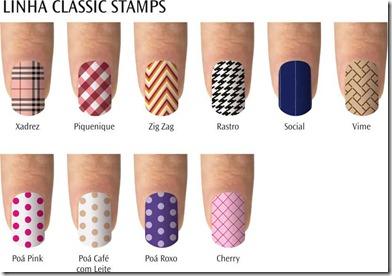 Eliana Super Pérola Tenshis - Linha Classic Stamps - baixa