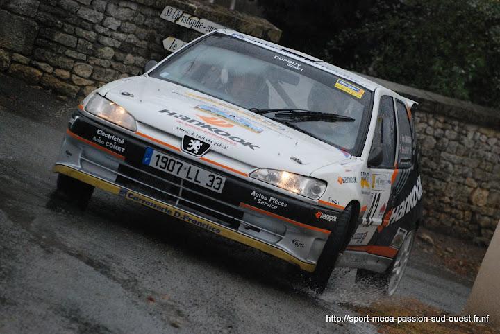 Yohan DUPOUY / Bruno CAMPANER  - 306 S16 F2/14 Rallye%20des%2012%20Travaux%20d%27Hercule%202010%20085