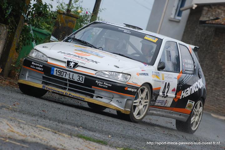 Yohan DUPOUY / Bruno CAMPANER  - 306 S16 F2/14 Rallye%20des%2012%20Travaux%20d%27Hercule%202010%20237