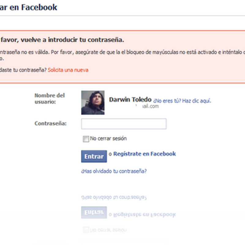 Bug de Facebook muestra información privada de usuarios.