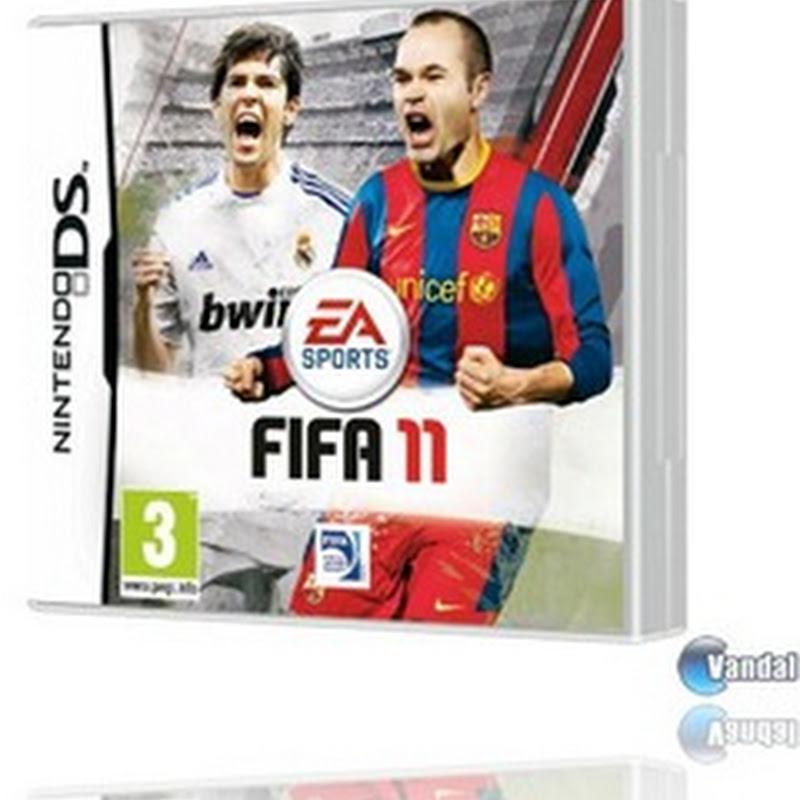 Electronic Arts desvela la portada definitiva de FIFA 11