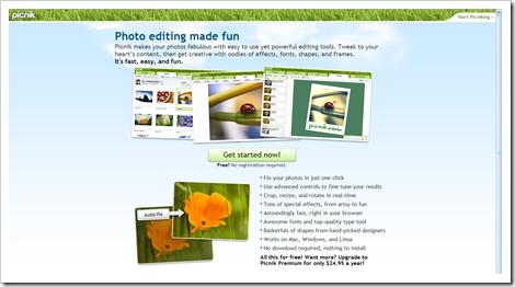 10 mejores editores de fotos on-line y algunas fotos