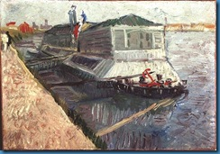 Gogh Van,19,FRA, Bathing Float on the Seine at Asnieres