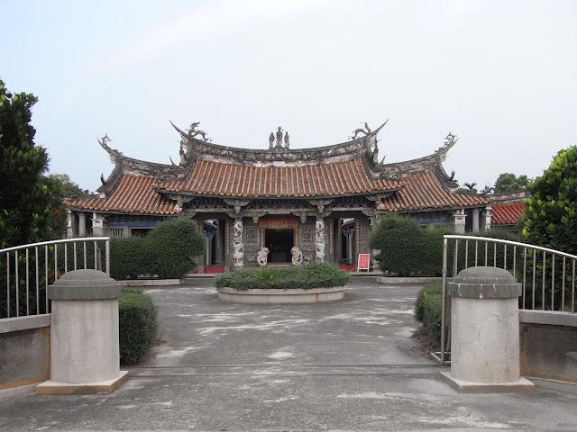 西螺景點-七崁張廖宗祠(崇遠堂)