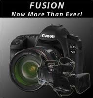 Fusion 200px - Canon 5D MarkIIa w-video