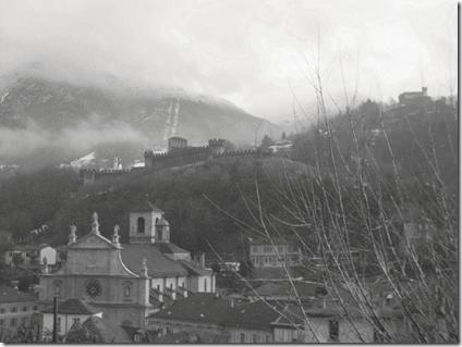 panorama dalle mura di Bellinzona