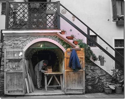 Un'antica bottega artigiana a Brugnato