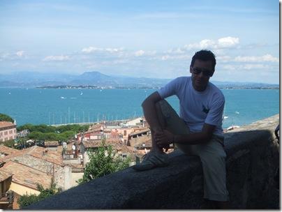 panorama dal castello di desenzano