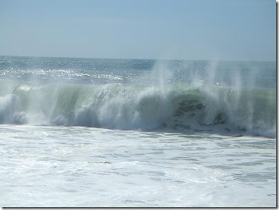Oceano atlantico a Nazarè
