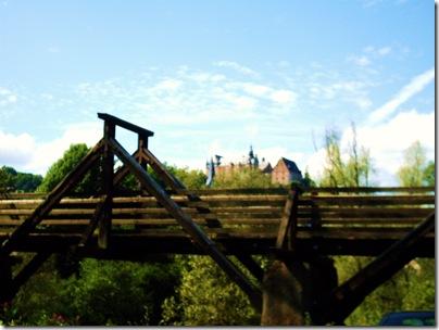 Ponte di legno a Marburg