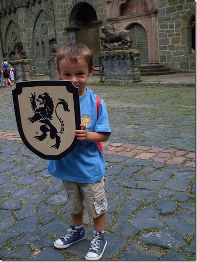 Aj con il nuovo scudo a Lowenburg