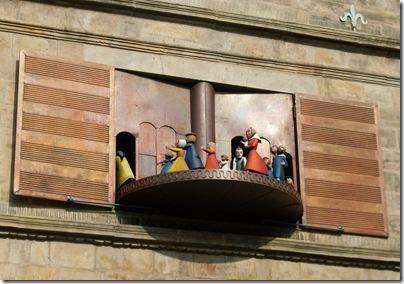 Una scena dal carillon di Hameln