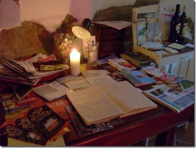 Libro degli ospiti in taverna