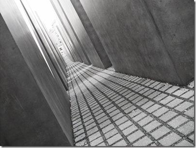L'angosciante Holocaust - Mahnmal a Berlino