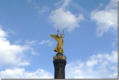 Particolare della Dea della vittoria a Berlino