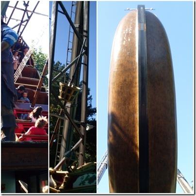 Il galeone dei pirati a Minitalia leolandia park