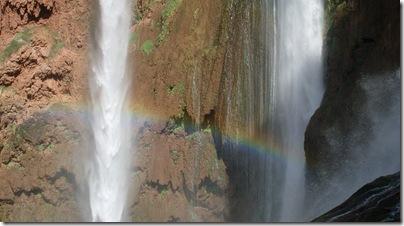 arcobaleno alle cascate di Ouzoud
