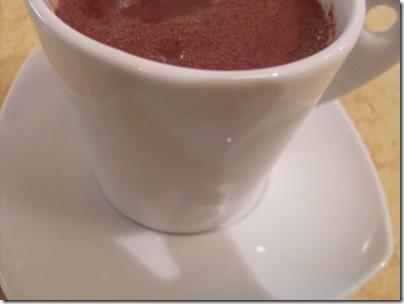 cioccolata calda a Limone