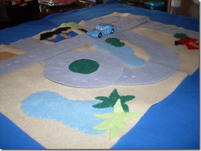 pista portatile, roll-up playmat