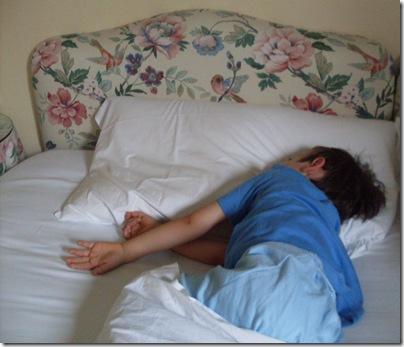 Aj mentre dorme all'Hotel leon D'oro