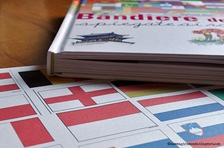 Le bandiere del mondo spiegate ai bambini - Bandiere bianche a colori ...