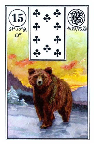Les différentes versions des  cartes Lenormand - Page 6 14