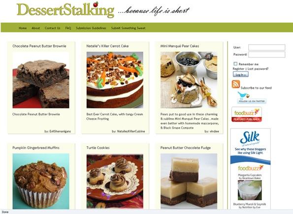 Dessert Stalking site