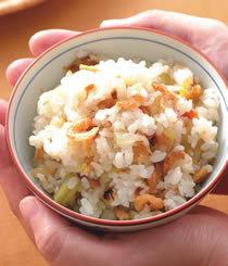 清爽入口不油膩的米食料理-【米食料理】-胡瓜蝦米飯