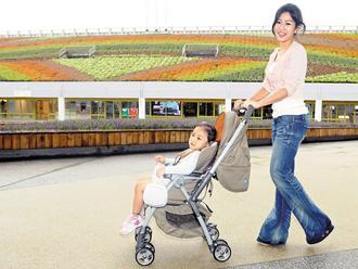 奇哥公司成為台北花博協力夥伴,提供園區內嬰兒用車等嬰幼兒產品-喜生米漢堡分享