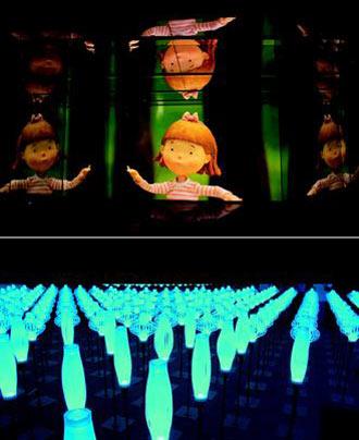 花博夢想館劇場,展示幾米的裝置藝術及偶動畫首播-喜生米漢堡分享